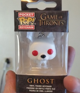 ghost keychain game of thrones