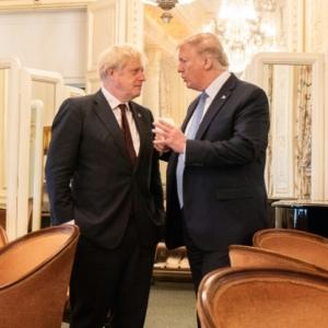 Donald Trump amd Boris Johnson