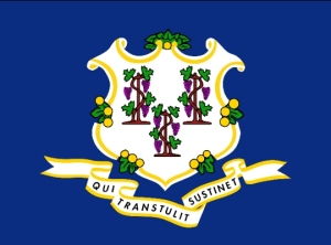 State flag Connecticut