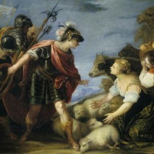 Bible art king David