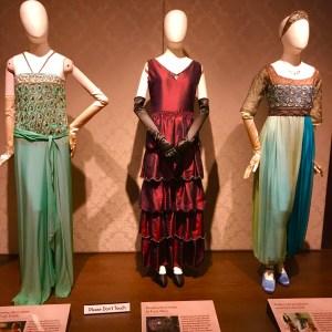 Crawley ladies dresses Downton Abbey Biltmore Estate Village Asheville North Carolina Sybil Mary Edith