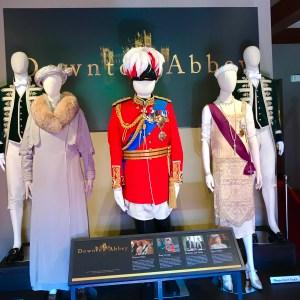 Downton Abbey costumes movie at Biltmore Estate Asheville North Carolina
