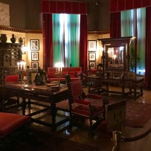 . Master Vanderbilt's bedroom Biltmore Estate Asheville North Carolina mansion