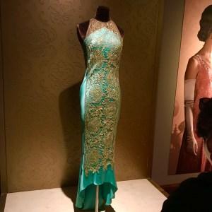 Lady Mary Crawley green dress Downton Abbey Biltmore Estate Asheville North Carolina