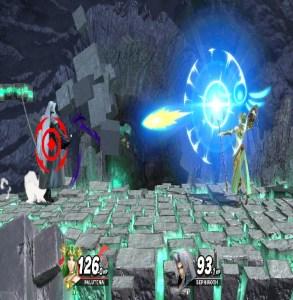 The Sephiroth ChallengeSuper Smash Bros. Ultimate Sephiroth VS palutena Nintendo Switch