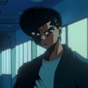 Yusuke Urameshi VS Doctor Sensui saga Yu Yu Hakusho anime Japan