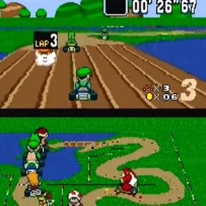 Donut Plains 2 snes Nintendo super Mario Kart