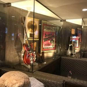 James brown guitar hard Rock Cafe Myrtle