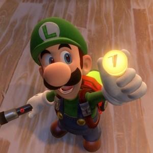 Floor 7 Button luigi's mansion 3 Nintendo Switch