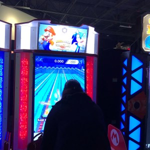 Dave and Buster's Greenville Mario and sonic at the Olympic Games Tokyo