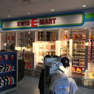 The Simpsons Kwik-E-Mart t-shirts and cups Myrtle Beach south carolina
