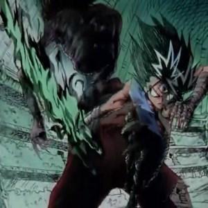 Hiei kills kuro momotaro sword of the darkness flame Yu Yu Hakusho anime Japan