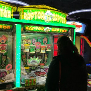 Dave and busters Greenville raptor captor