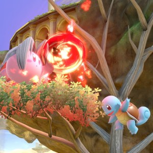 Kirby Sephiroth VS squirtle super Smash Bros ultimate Nintendo Switch