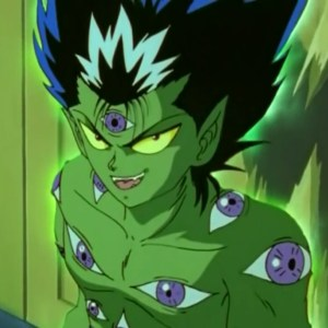 Hiei true demon form green Yu Yu Hakusho anime Japan