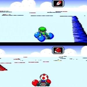Battle mode super Mario Kart snes Nintendo