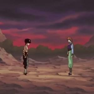Hiei vs mukuro demon world tournament Yu Yu Hakusho anime Japan