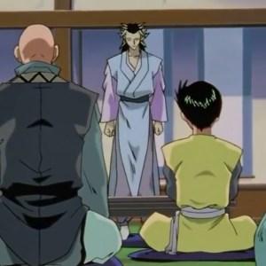 Yusuke Urameshi meets yomi Yu Yu Hakusho anime Japan