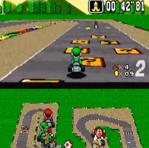Mario Circuit 3 item box super Mario Kart snes Nintendo