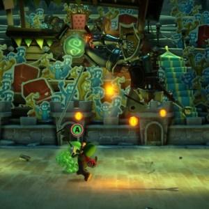 Nintendo Switch King MacFrights Luigi's Mansion 3