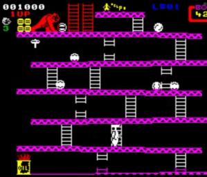 Zx Spectrum donkey Kong Nintendo