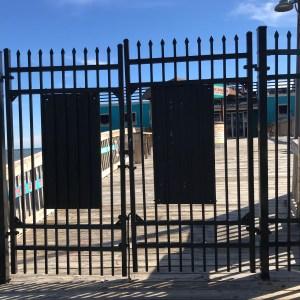 Gated pier Myrtle Beach south carolina