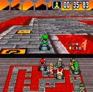 Item box Bowser Castle 2 super Mario Kart snes Nintendo