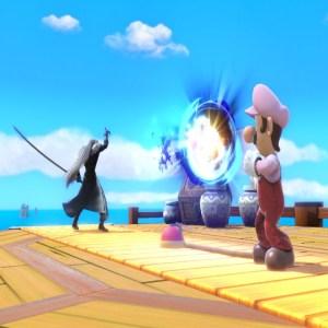 Luigi VS Sephiroth Super Smash Bros. Ultimate Nintendo Switch