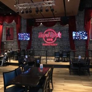 Hard Rock Cafe Myrtle Beach south carolina interior tables