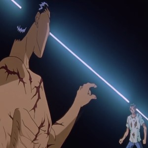 Yusuke Urameshi VS Shinobu Sensui Yu Yu Hakusho anime Japan