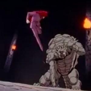 Kurama vs genbu maze castle Yu Yu Hakusho anime Japan
