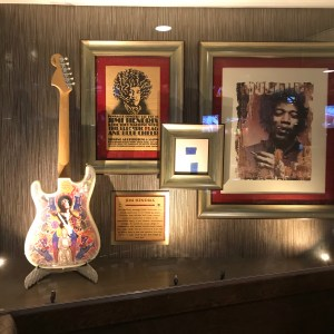 Jimi hendrix guitar hard Rock Cafe Myrtle Beach south carolina