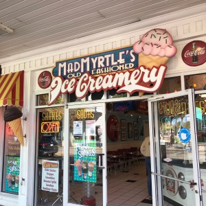 Mad myrtles old-fashioned ice creamery Myrtle Beach South Carolina