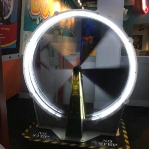 Spinning wheel optical illusion wonder works myrtle Beach south carolina