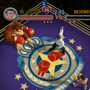 Donkey Kong boss punch out Nintendo Wii