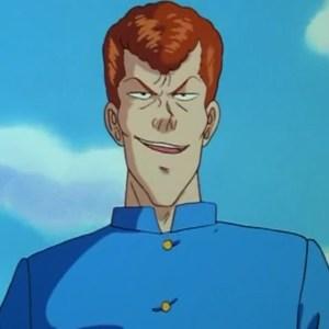 Kazuma Kuwabara first appearance Yu Yu Hakusho anime Japan