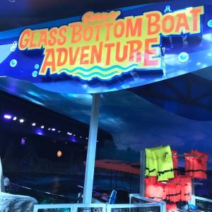 Replaceglass bottom boat adventure Ripleys aquarium Myrtle Beach South Carolina