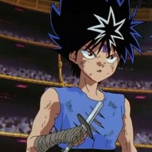 Hiei dark tournament semifinals broken sword Yu Yu Hakusho anime Japan