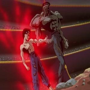 Yu Yu Hakusho Yusuke vs younger toguro anime Japan
