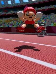 Mario and sonic at the Olympic Games Tokyo arcade Nintendo Sega