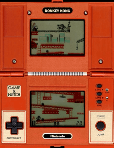 Nintendo game and watch donkey Kong