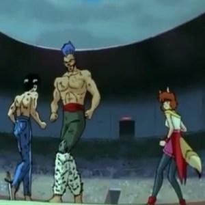 Yusuke Urameshi VS chu Yu Yu Hakusho anime Japan
