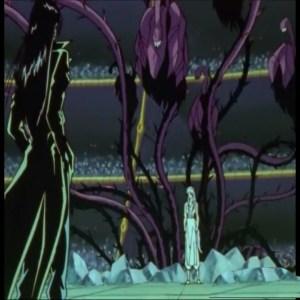 Yoko kurama vs karasu Yu Yu Hakusho anime Japan