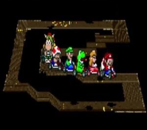 Ghost Valley 3 super Mario Kart snes Nintendo