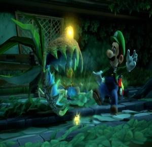 Dr. Potter Luigi's Mansion 3 plant monster Nintendo Switch