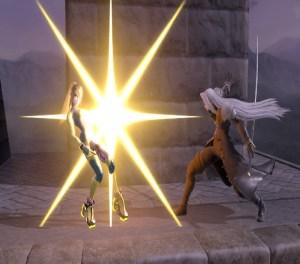 Zero suit Samus VS Sephiroth Super Smash Bros. Ultimate Nintendo Switch