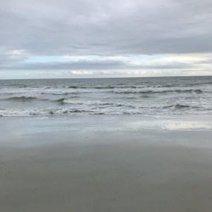 Waves of the ocean Myrtle Beach south carolina