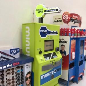 Minute key machine Walmart