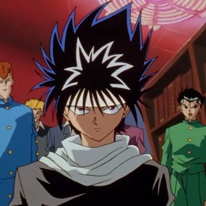 Hiei learns he's B class Yu Yu Hakusho anime Japan
