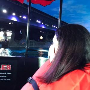 Life jackets glass bottom boat Ripleys aquarium Myrtle Beach South Carolina